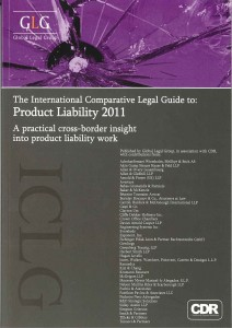 GLG Product Liability 2011_cover