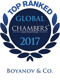 B&Co. Chambers GLOBAL 2017 Prsonalized - Small