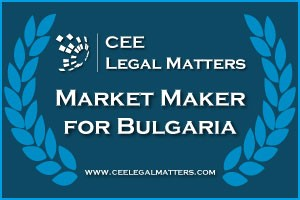 CEE Legal Matters Market Maker For Bulgaria