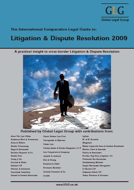 litigation-dispute-resolution-2009-bulgaria