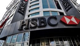 The HSBC headquarters in Istanbul are pictured on June 9, 2015. Scandal-hit bank HSBC said on June 9 it would cut its global headcount by up to 50,000 as part of a restructuring that entails its withdrawal from Brazil and Turkey, while it also mulls abandoning London as its HQ. AFP PHOTO/ OZAN KOSE        (Photo credit should read OZAN KOSE/AFP/Getty Images)