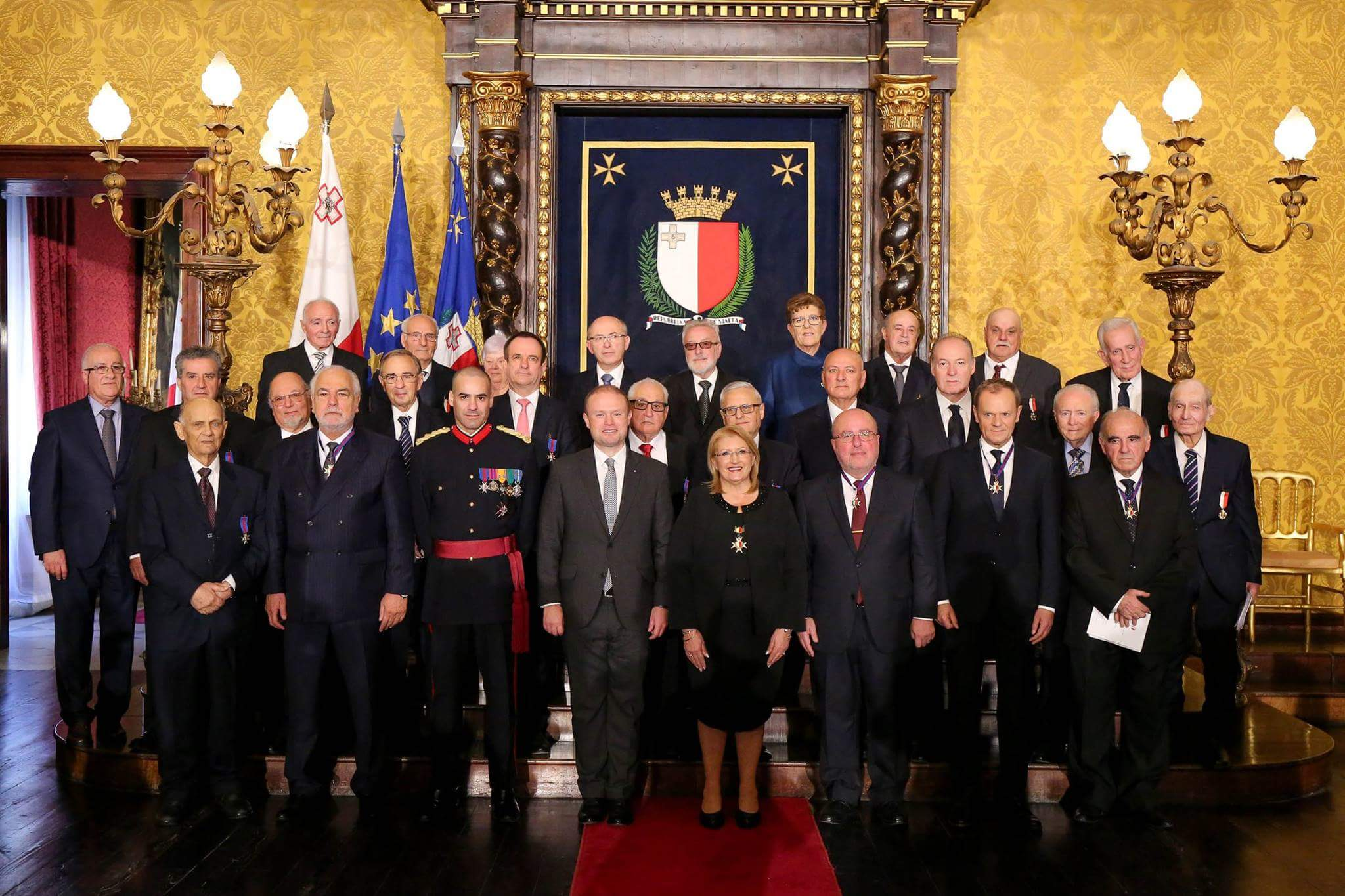 the-chairman-of-the-bulgarian-association-of-the-honorary-consuls-borislav-boyanov-along-with-the-eu-council-president-donald-tusk-was-awarded-by-malta-to-mark-republic-day